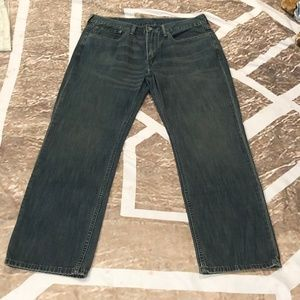 Levi's Lightly Warn 514 Straight Fit Men's Jeans